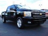 2010 Black Chevrolet Silverado 1500 LTZ Crew Cab #55332782