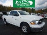 2011 Bright White Dodge Ram 1500 SLT Quad Cab 4x4 #55332766