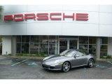 2012 Meteor Grey Metallic Porsche 911 Carrera S Cabriolet #55332607