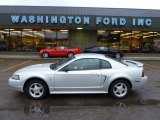 2001 Silver Metallic Ford Mustang V6 Coupe #55332591