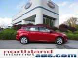 2012 Red Candy Metallic Ford Focus SE Sport 5-Door #55332404