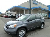 2011 Polished Metal Metallic Honda CR-V EX 4WD #55332715