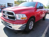 2009 Flame Red Dodge Ram 1500 SLT Crew Cab #55332517