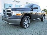 2010 Brilliant Black Crystal Pearl Dodge Ram 1500 ST Quad Cab #55332512