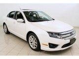2010 White Platinum Tri-coat Metallic Ford Fusion SEL #55365371