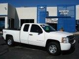 2009 Summit White Chevrolet Silverado 1500 LT Extended Cab 4x4 #55365168