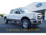 2012 Oxford White Ford F250 Super Duty King Ranch Crew Cab 4x4 #55365150