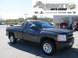 2011 Taupe Gray Metallic Chevrolet Silverado 1500 Regular Cab 4x4 #55365326