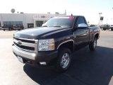 2007 Black Chevrolet Silverado 1500 LT Regular Cab 4x4 #55365320