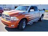 2010 Bright Silver Metallic Dodge Ram 1500 Laramie Quad Cab 4x4 #55365108