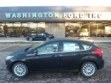 2012 Black Ford Focus Titanium 5-Door #55365273