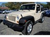 2011 Sahara Tan Jeep Wrangler Sport S 4x4 #55365439