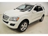 2009 Mercedes-Benz ML Arctic White