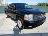 2007 Black Chevrolet Silverado 1500 LTZ Crew Cab #55365215