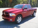 2012 Deep Cherry Red Crystal Pearl Dodge Ram 1500 Express Quad Cab #55365404