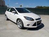 2012 White Platinum Tricoat Metallic Ford Focus Titanium 5-Door #55365204