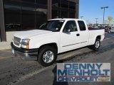 2004 Summit White Chevrolet Silverado 1500 LT Extended Cab 4x4 #55402326