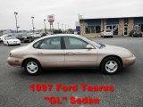 1997 Light Saddle Metallic Ford Taurus GL #55402525