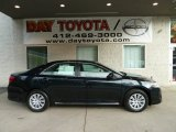 2012 Attitude Black Metallic Toyota Camry LE #55401985