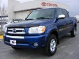 2005 Spectra Blue Mica Toyota Tundra SR5 Double Cab 4x4 #5519296
