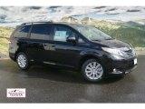 2012 Black Toyota Sienna Limited AWD #55401930