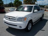 2005 Natural White Toyota Tundra Limited Double Cab #5516565