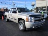 2008 Silver Birch Metallic Chevrolet Silverado 1500 Work Truck Extended Cab 4x4 #55401884