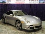 2007 GT Silver Metallic Porsche 911 Turbo Coupe #55402181