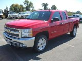2012 Victory Red Chevrolet Silverado 1500 LT Extended Cab #55402383