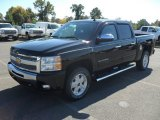 2011 Black Chevrolet Silverado 1500 LT Crew Cab 4x4 #55402380