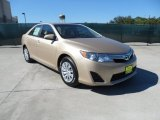 2012 Sandy Beach Metallic Toyota Camry LE #55402140