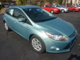 2012 Frosted Glass Metallic Ford Focus SE 5-Door #55450306