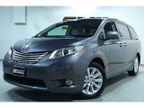 2011 Predawn Gray Mica Toyota Sienna Limited AWD #55450266