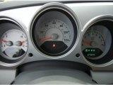 2007 Chrysler PT Cruiser Limited Gauges