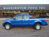 2011 Blue Flame Metallic Ford F150 STX SuperCab 4x4 #55450425