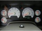 2008 Dodge Ram 1500 SLT Regular Cab 4x4 Gauges
