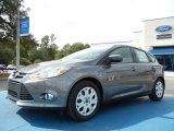 2012 Sterling Grey Metallic Ford Focus SE 5-Door #55450252