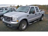 2004 Silver Metallic Ford F250 Super Duty XLT Crew Cab #55450235