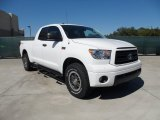 2012 Super White Toyota Tundra TRD Rock Warrior Double Cab 4x4 #55450369