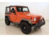2006 Impact Orange Jeep Wrangler SE 4x4 #55450596