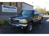 2003 Polo Green Metallic GMC Sierra 2500HD SLE Extended Cab 4x4 #55450358