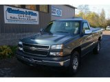 2006 Blue Granite Metallic Chevrolet Silverado 1500 Work Truck Regular Cab 4x4 #55450357