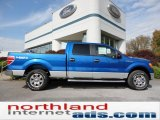 2011 Blue Flame Metallic Ford F150 XLT SuperCrew 4x4 #55450188