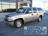 2001 Light Pewter Metallic Chevrolet Suburban 1500 LS 4x4 #55450579