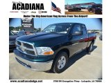 2011 Hunter Green Pearl Dodge Ram 1500 SLT Quad Cab #55450323