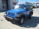 2012 Cosmos Blue Jeep Wrangler Sport 4x4 #55450523
