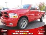 2012 Flame Red Dodge Ram 1500 Express Quad Cab #55487897