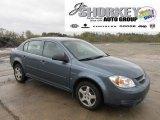 2007 Blue Granite Metallic Chevrolet Cobalt LS Sedan #55488150