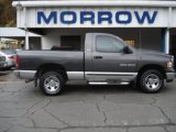 2002 Graphite Metallic Dodge Ram 1500 SLT Regular Cab 4x4 #55487830
