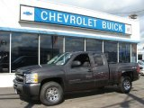 2010 Taupe Gray Metallic Chevrolet Silverado 1500 LS Extended Cab 4x4 #55487809